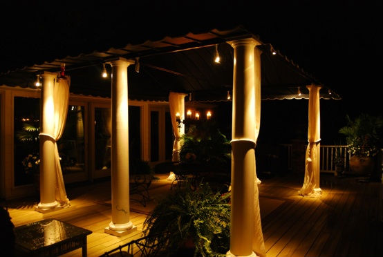 Outdoor and architectural lighting by toms creek looking at stars conversing or just listening to nature by your lonesome landscape lighting encourages and enhances all these activities aloadofball Choice Image