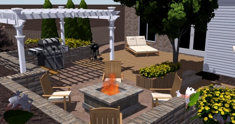 3d Design Service By Toms Creek Nursery Landscaping