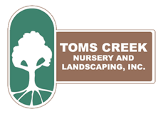 Toms Creek Nursery & Landscaping Logo